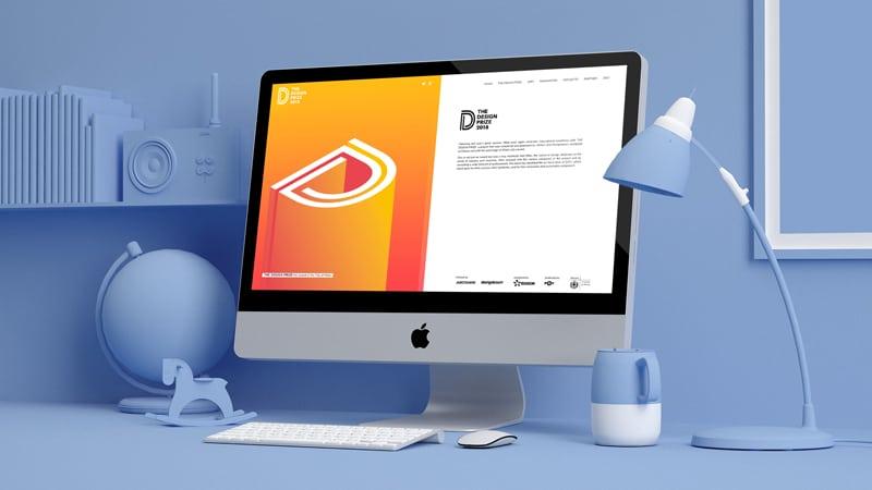 The Design Prize website realizzato da BeeCreative